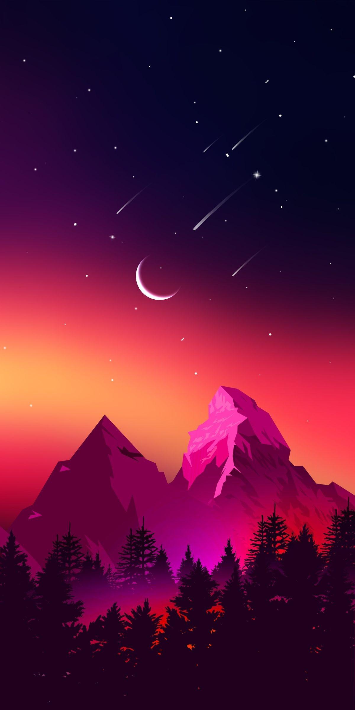 4k iphone wallpaper moon